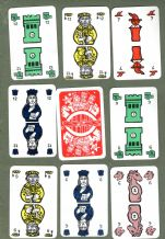 Collectable Vintage Cards game Chess-Bridge playing cards